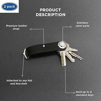 Organizador de bolsillo para la Details about  /Soporte para llaves montado en la pared 11