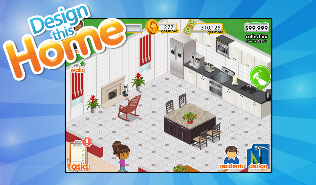 amazoncom design this home appstore for android - Designing A House Game