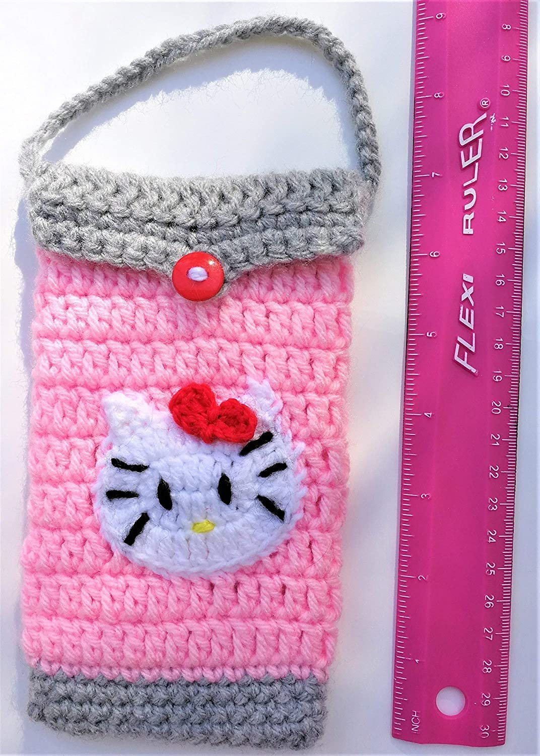 Cute Hello Kitty IPhone Case Handmade Birthday Gifts For Adult Android Phone Cell Girl Present Bag Convenient
