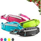 Waist Pack for Women with Convenient Headphone Hole - Multipurpose Fanny Pack Great for Hiking, Walking, Camping, Travel, & More - by Savvy Glamping