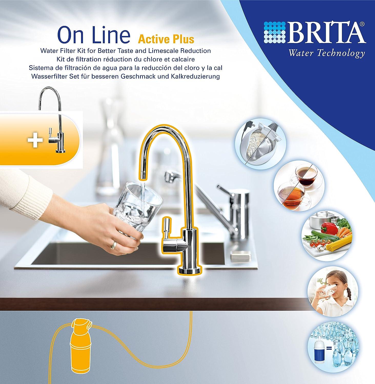 Brita 1004306 - Sistema de filtración On Line, Sistema Pack