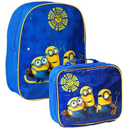 146ff3dc3db Minions Despicable Me Kids Backpack  School Bag  Style May Vary