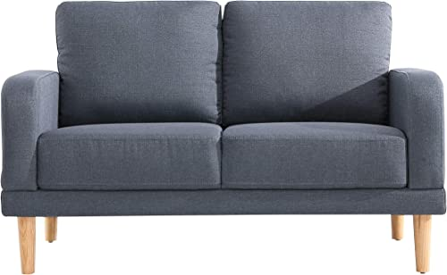 Husbedom Gnasche 51″ W Loveseat Sofa Love Seat Upholstered Sofa