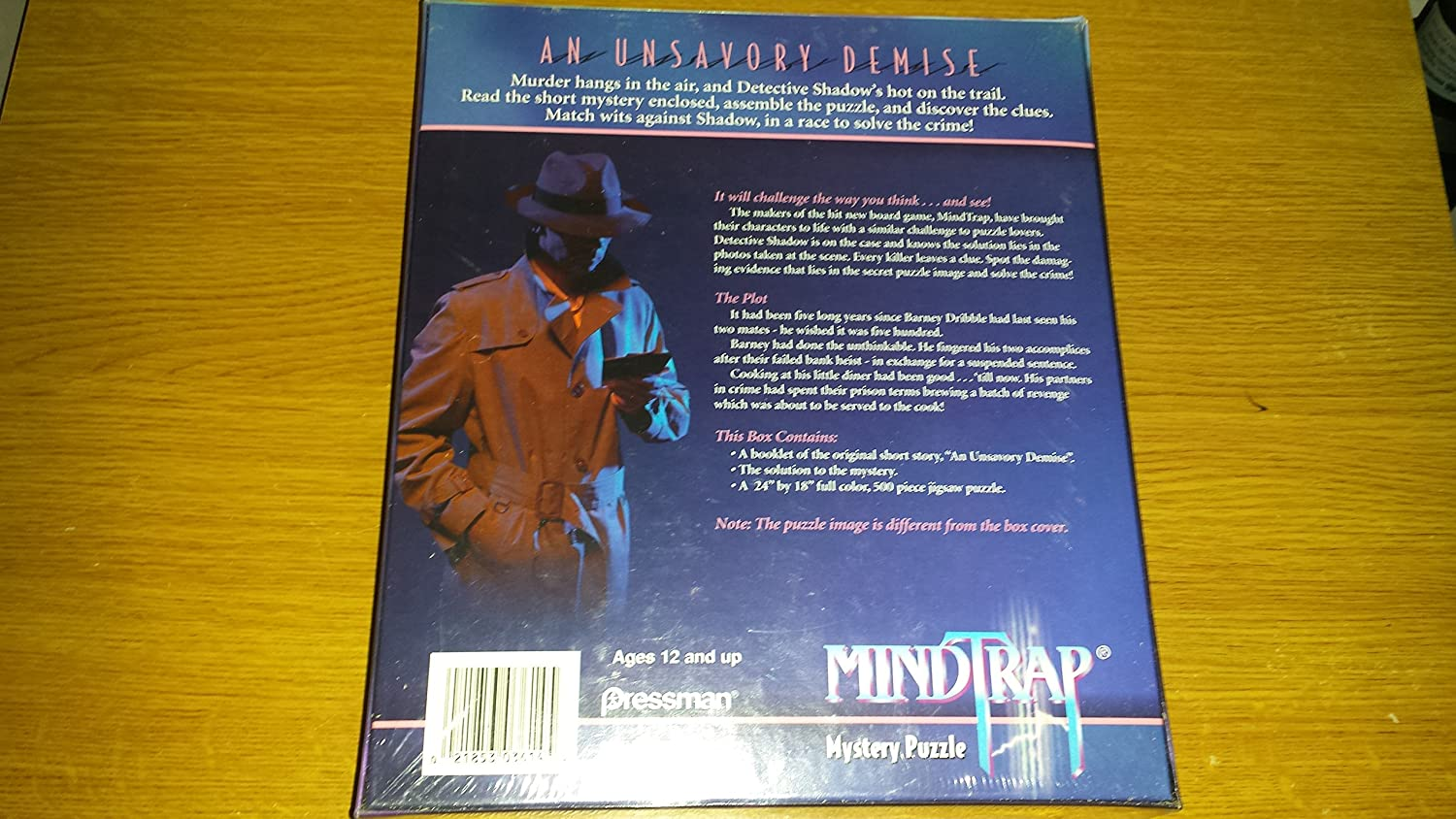 MindTrap Mystery Puzzle; An Unsavory Demise ToyCentre