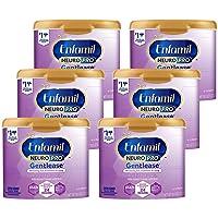 Enfamil NeuroPro Gentlease Baby Formula Gentle Milk Powder Reusable Tub, 19.5 oz...