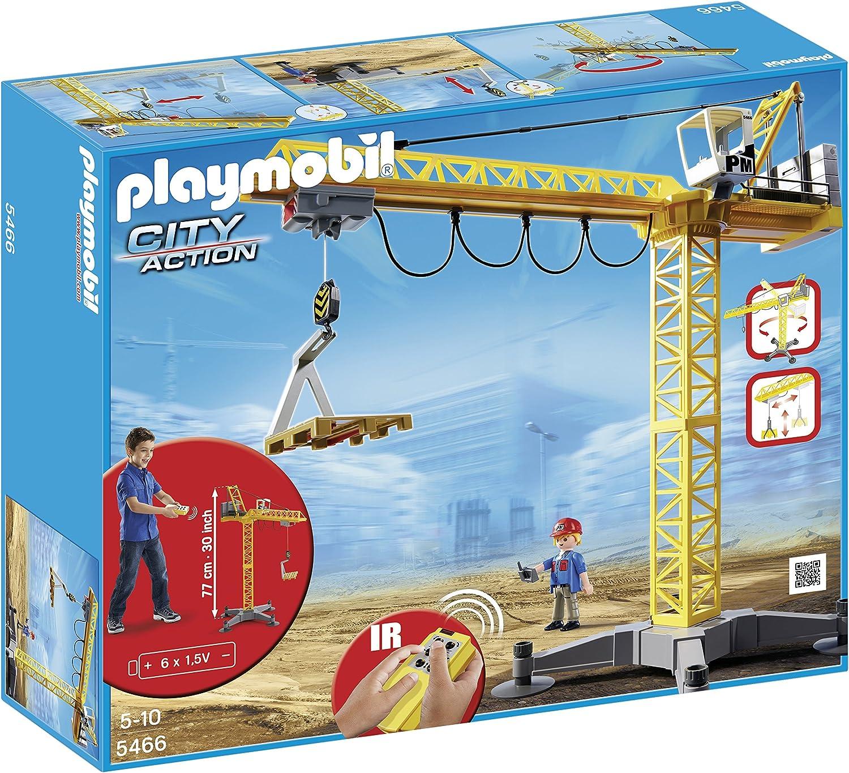 Playmobil Construcción - Grúa con Radio Control , Juguete ...