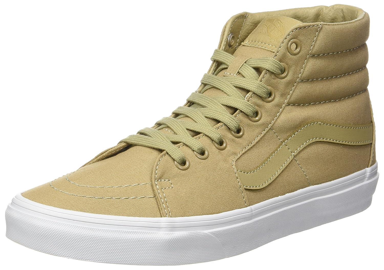 Vans Herren UA Sk8-Hi Hohe Sneakers, Gruuml;n  39 EU|Beige (Mono Canvas)