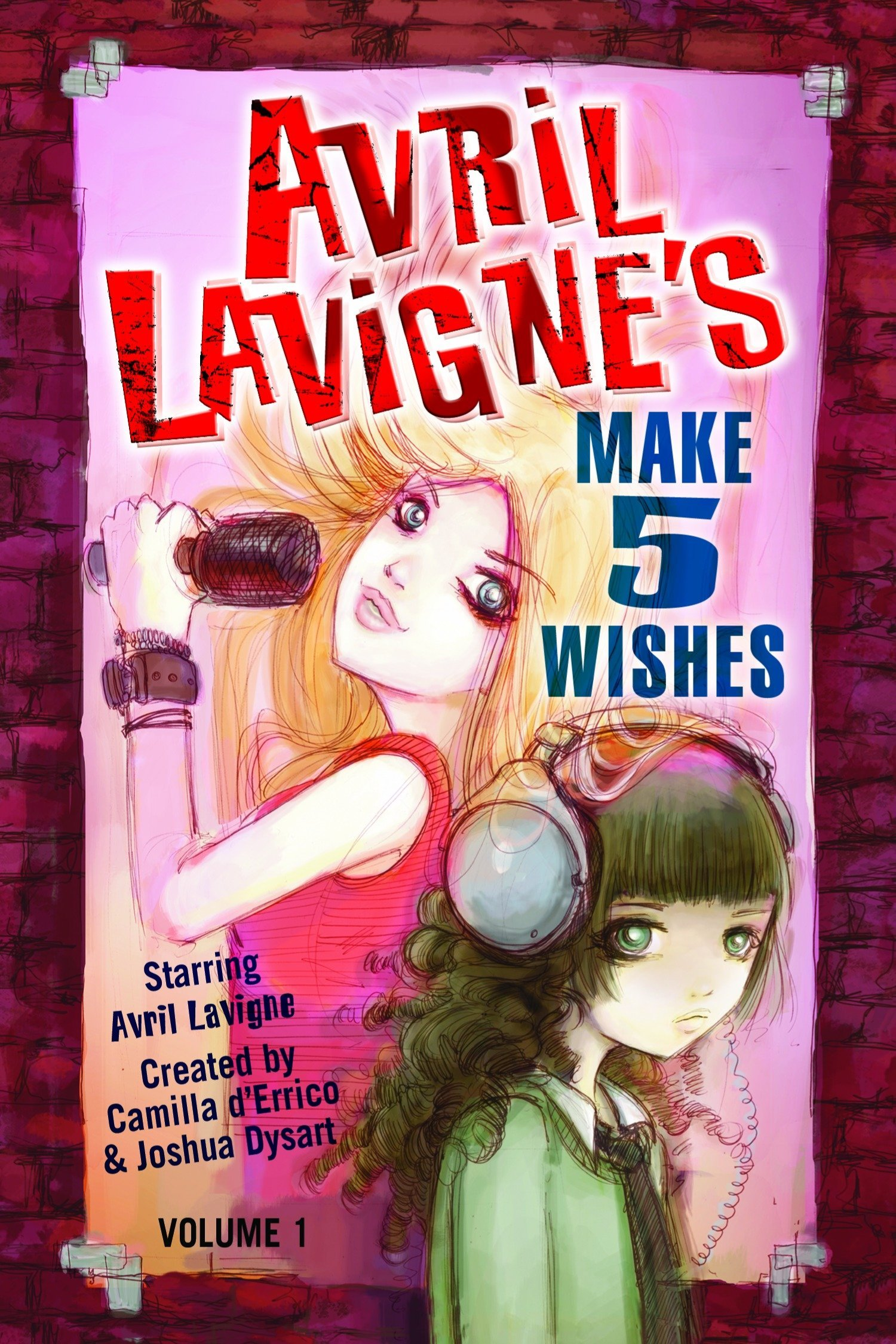 Download Avril Lavigne's Make 5 Wishes  Volume 1 (Avril LaVigne's Make 5 Wishes Graphic Novels) pdf epub