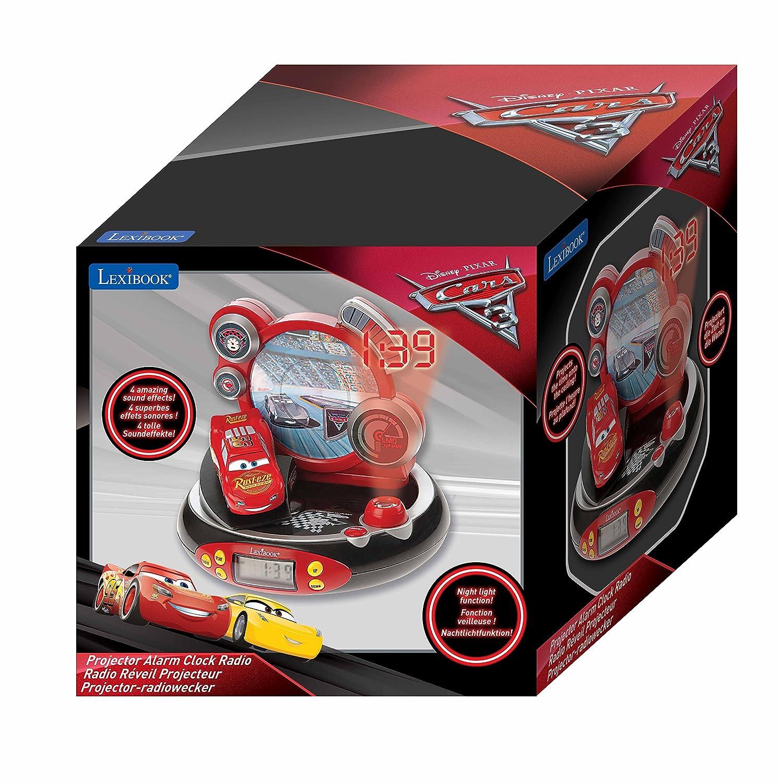 Lexibook-RP500DP Disney Cars-Radio Despertador con Proyección De ...