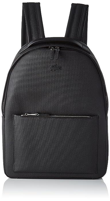 Lacoste Nh2704ce, Men s Backpack, Black, 12x42x30.5 cm (W x H L ... 2a4d8155b4