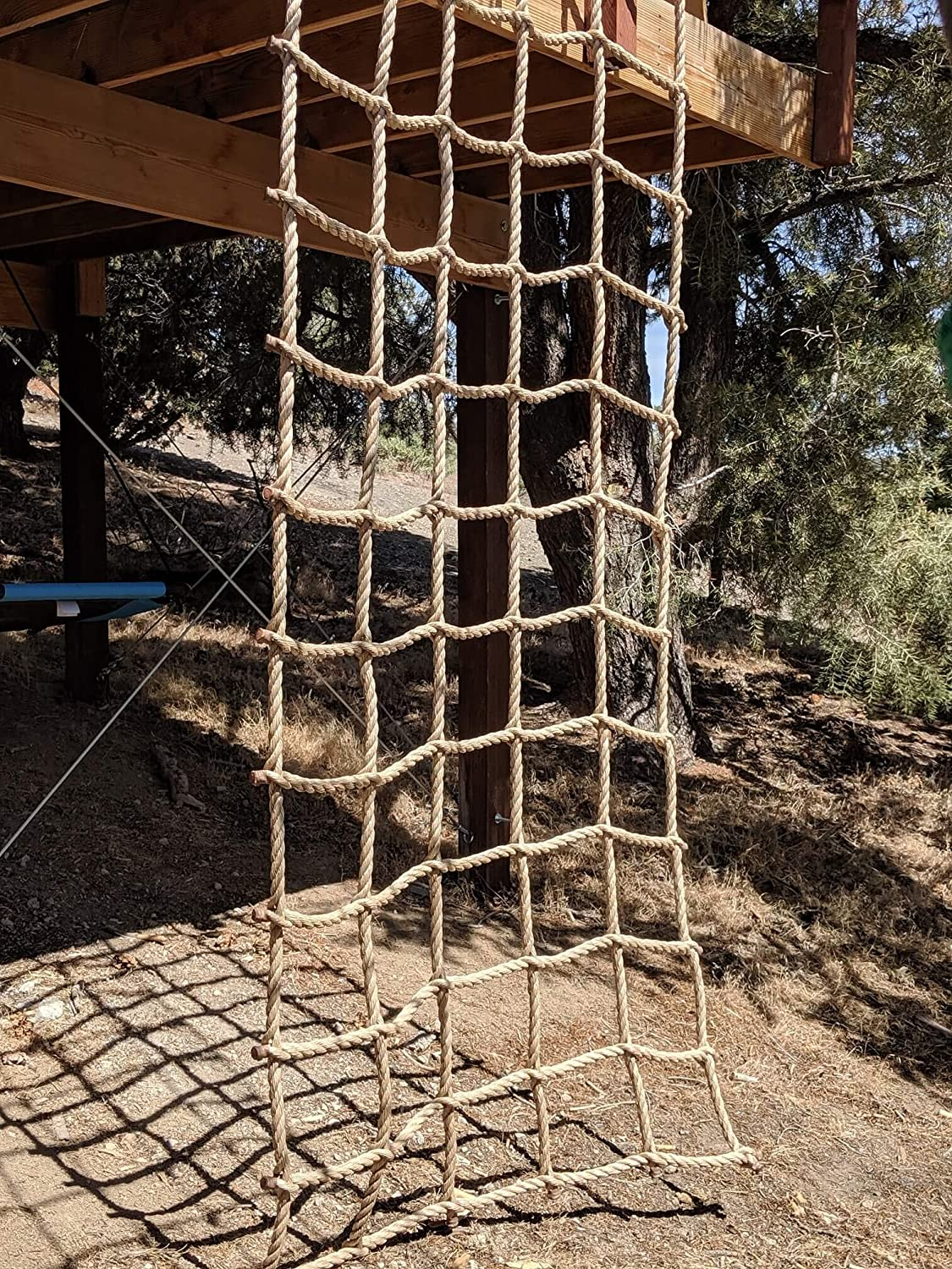 10 Squares Kids Should Be Kids Climbing Net Affordable Quality No Splice 1 Pro Manila Rope