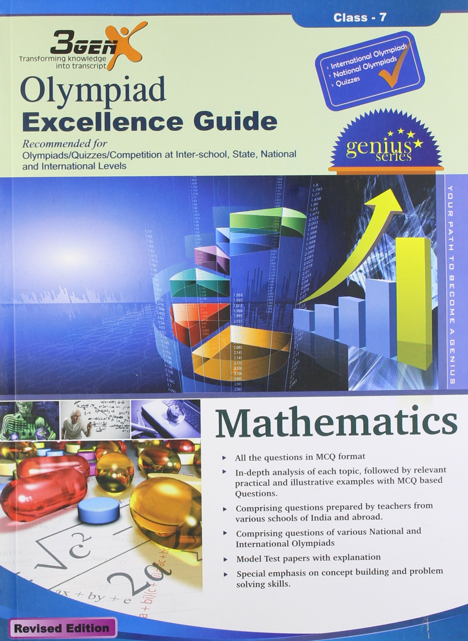 Amazon.in: Buy Olympiad Excellence Guide for Mathematics (Class-7) Book  Online at Low Prices in India | Olympiad Excellence Guide for Mathematics ( Class-7) ...