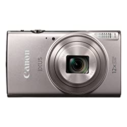 Canon IXUS 285 LCD Screen 20.2MP Compact Digital Camera - Silver