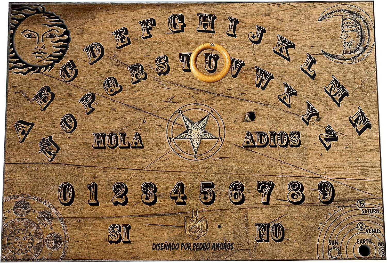 Tablero Ouija Artesano Edición Pedro Amorós - Tamaño Grande 41.7 x 29.6 cm