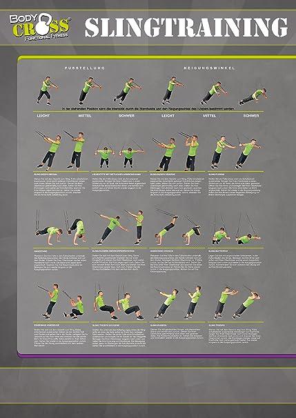 Body Cross Sling Trainer - 2 pósters para entrenamiento con ...