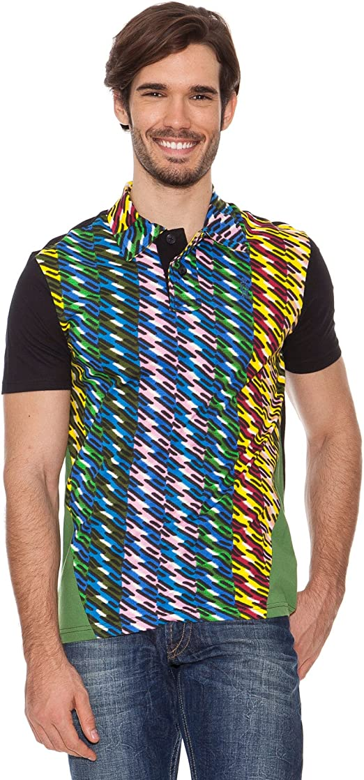 Desigual Polo Bender Out Negro XL: Amazon.es: Ropa y accesorios