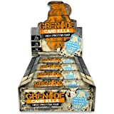 Grenade Carb Killa High Protein and Low Carb Bar, White Chocolate Cookie, 720 g