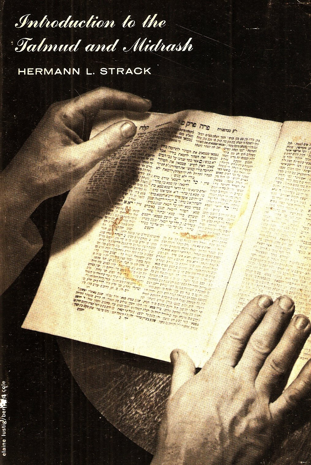 Introduction To the Talmud & Midrash, Strack, Herman
