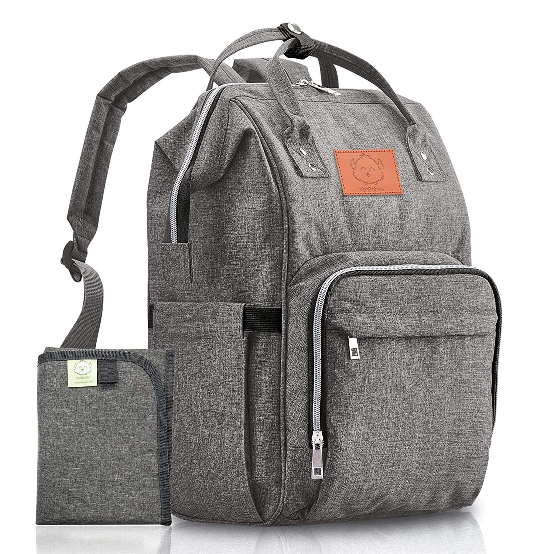 4d7f6d5d92af Baby Diaper Bag Backpack - Multi-Function Waterproof Travel Baby Bags for  Mom