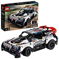 LEGO Technic App-Controlled Top Gear Rally Car 42109 Racing Toy Building Kit, New...