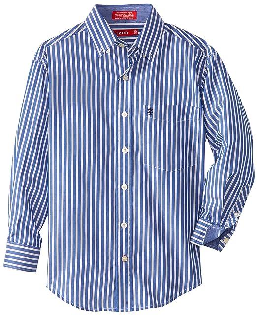 Amazon.com: IZOD Big Boys diseño de rayas camisa de traje ...