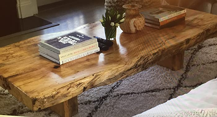 Maple Coffee Table Made From RECLAIMED Wood