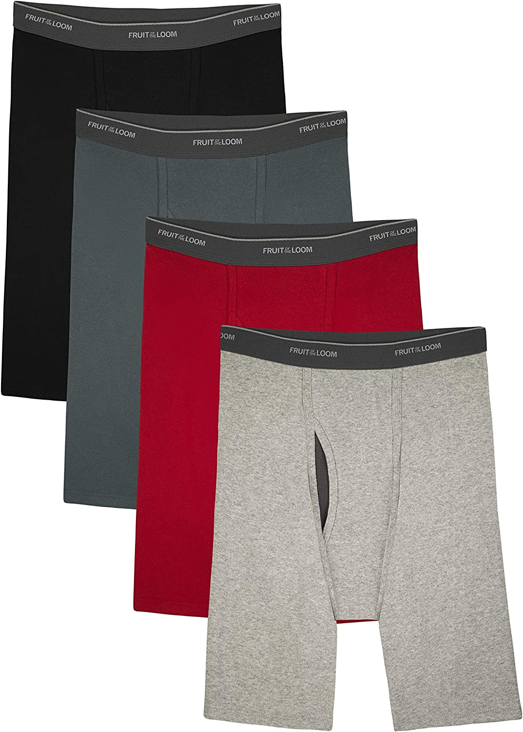 Fruit of the Loom Men's CoolZone Boxer Briefs, long Leg - Assorted Colors, XX-Large at  Men's Clothing store