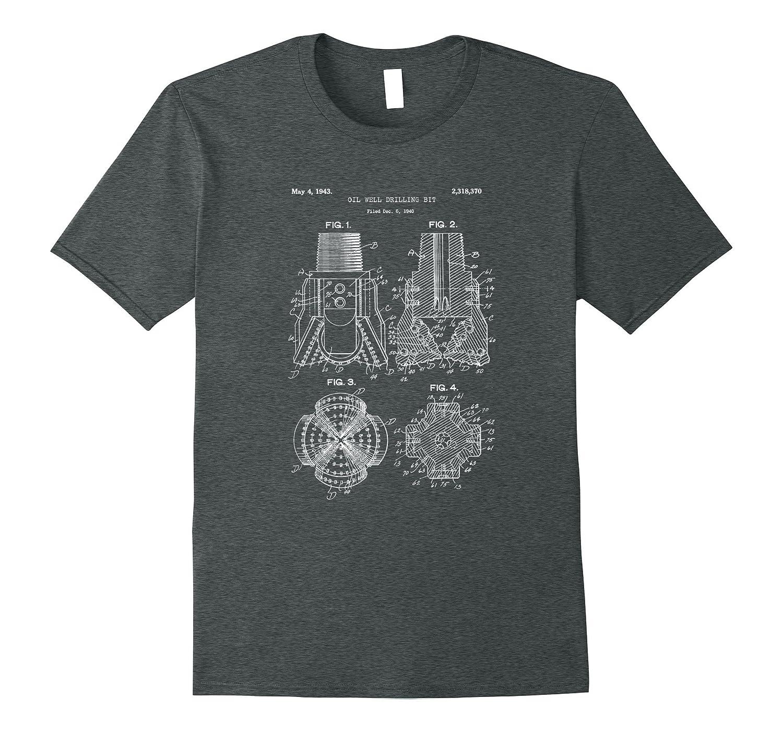 Mens Drill Bit Blueprint Shirt-Tovacu