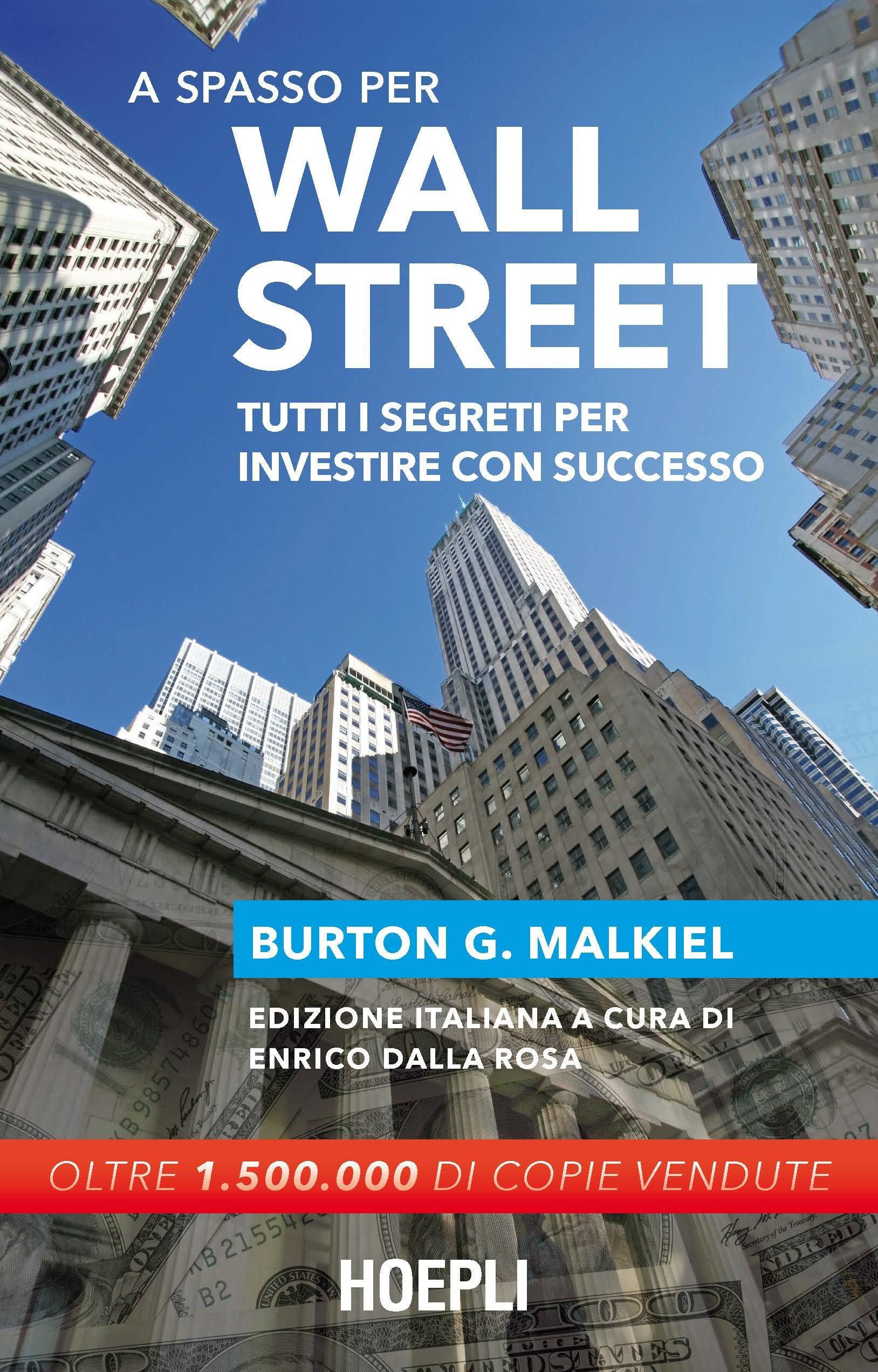 Copertina Libro A spasso per Wall Street.