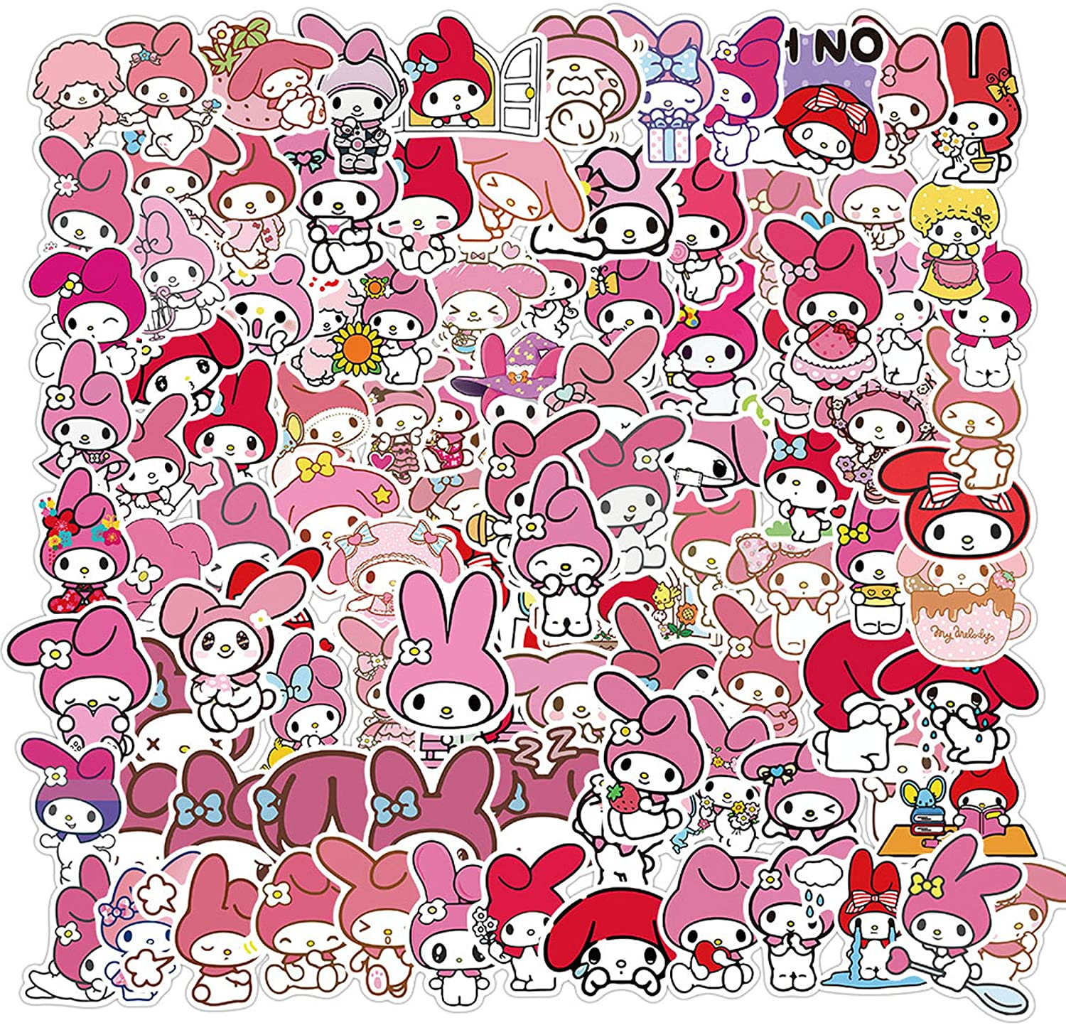 My Melody Stickers 100pcs