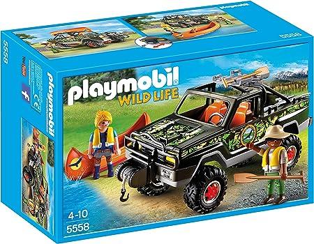 PLAYMOBIL - Juego Pick up de Aventura (55580)
