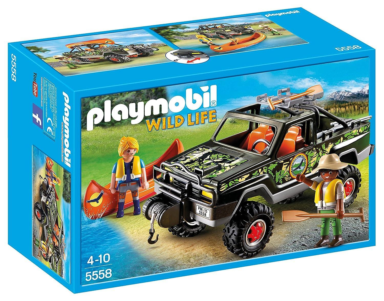 PLAYMOBIL Adventure Pickup Truck