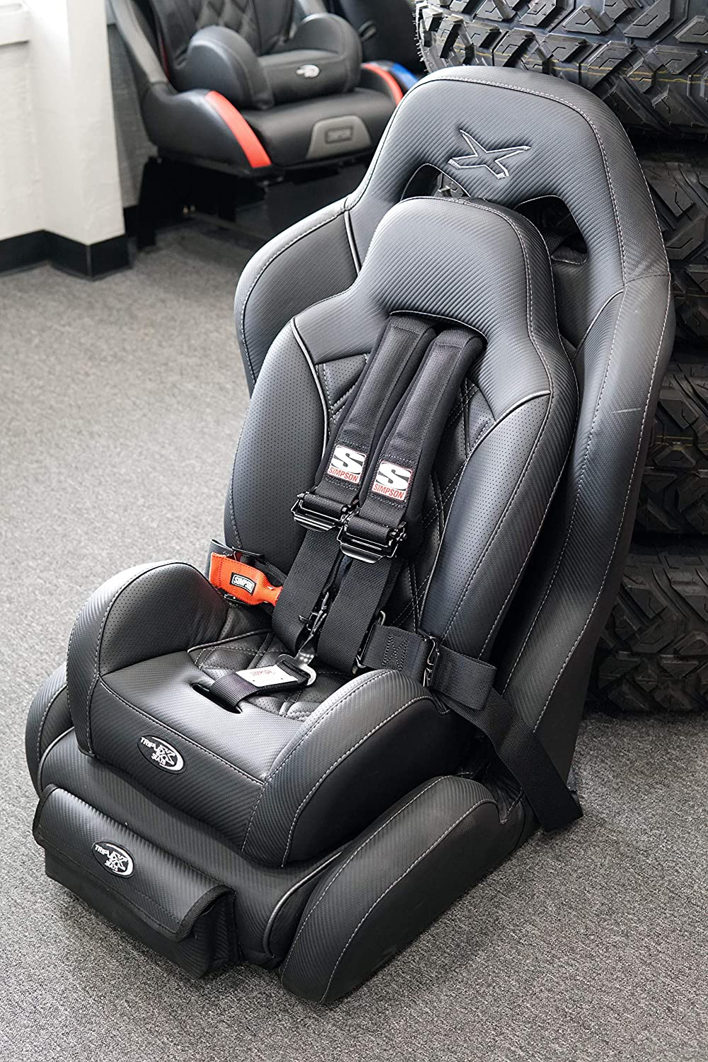 Can-Am and Kawasaki Fits Polaris Triple X UTV Booster Seat for Suspension Seat