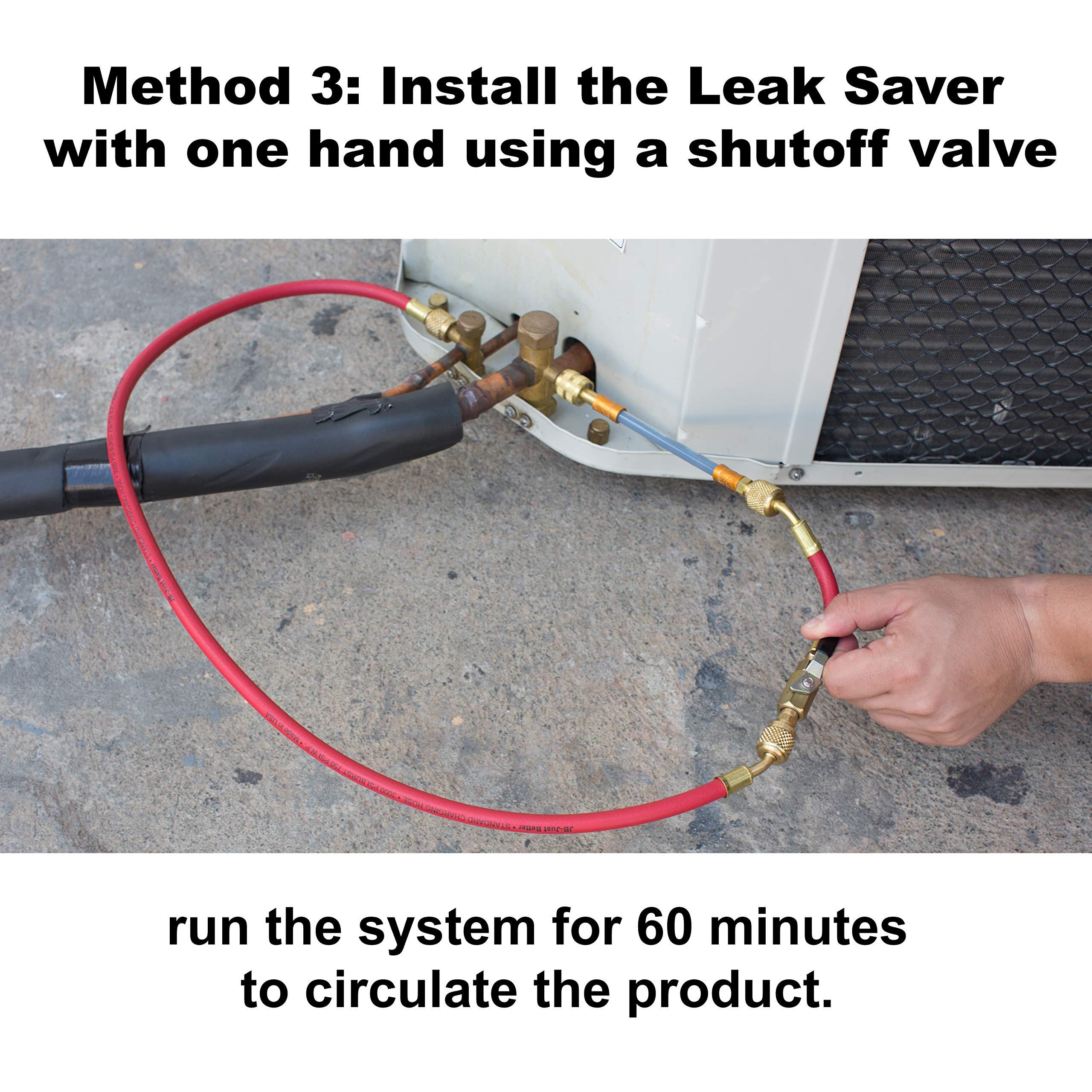 Leak Savers Direct Inject Refrigerant Leak Sealer with UV Dye (3 Pack) by Leak Savers (Image #6)