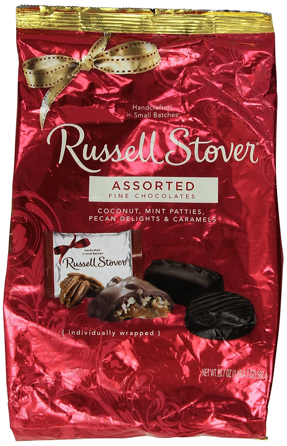 Amazon.com : Russell Stover Assorted Fine Chocolates Individually ...