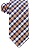 Gingham Plaid Ties for Men - Woven Necktie - Mens Ties Neck Tie by Scott Allan