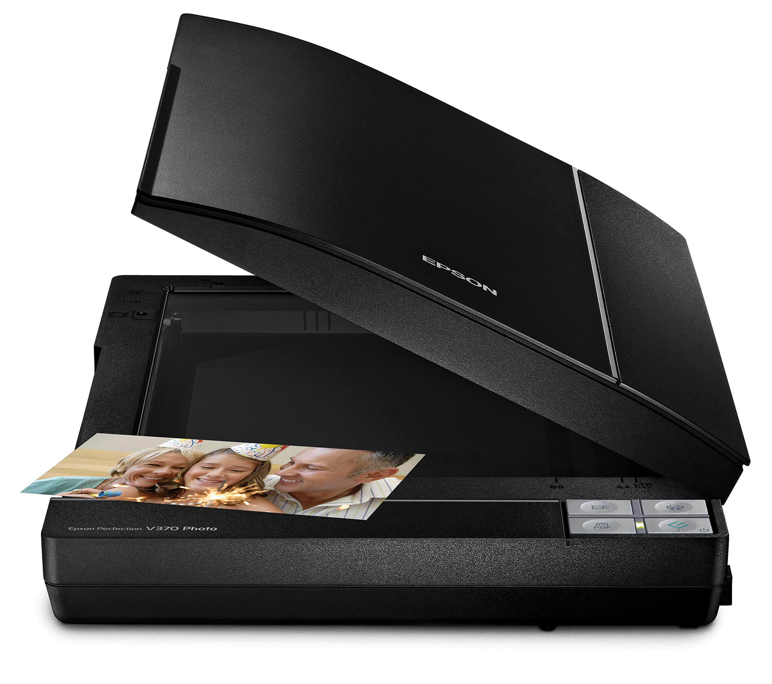 Epson B11B207221 Perfection V370 Color Photo, Image, Film, Negative & Document Scanner by Epson