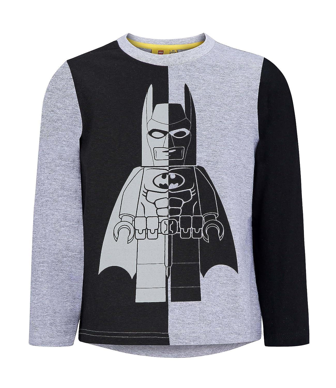 Lego Batman 1672, T-Shirt Bambino, Grigio Gris, 4 Anni SO00001672