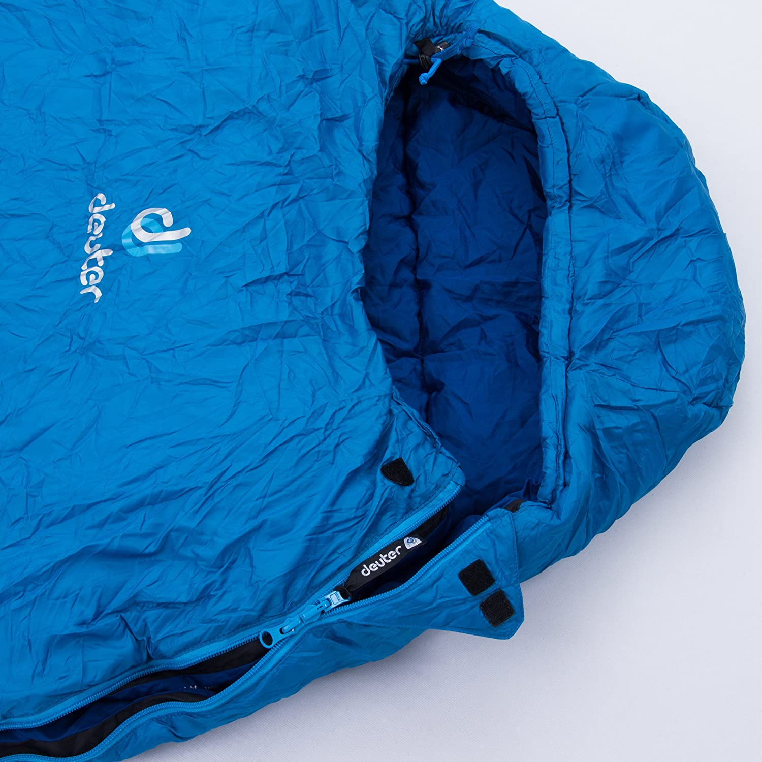 Deuter Orbit 0° - Saco de Dormir, Unisex Adulto, Azul(Bay-Steel): Amazon.es: Deportes y aire libre