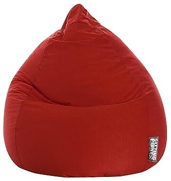 Pouf Poire Easy XL Rouge by SittingPoint: Amazon.fr: Cuisine & Maison