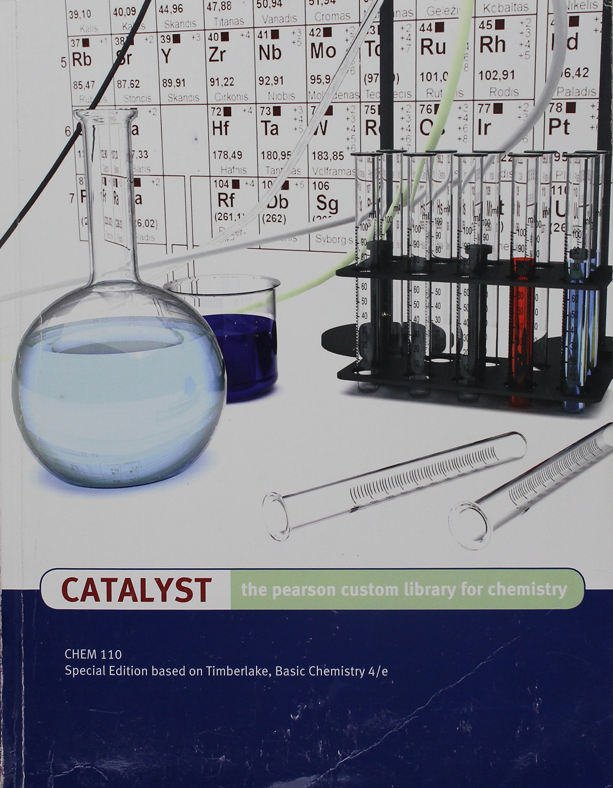 catalyst the pearson custom library for chemistry 9781269268219 rh amazon com Doris Pearson 5 Star Doris Pearson 5 Star
