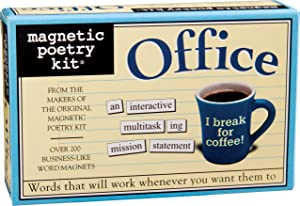 Magnetic Poetry - Office Kit - Words for Refrigerator - Write Poems and Letters on the Fridge - Made in the USA