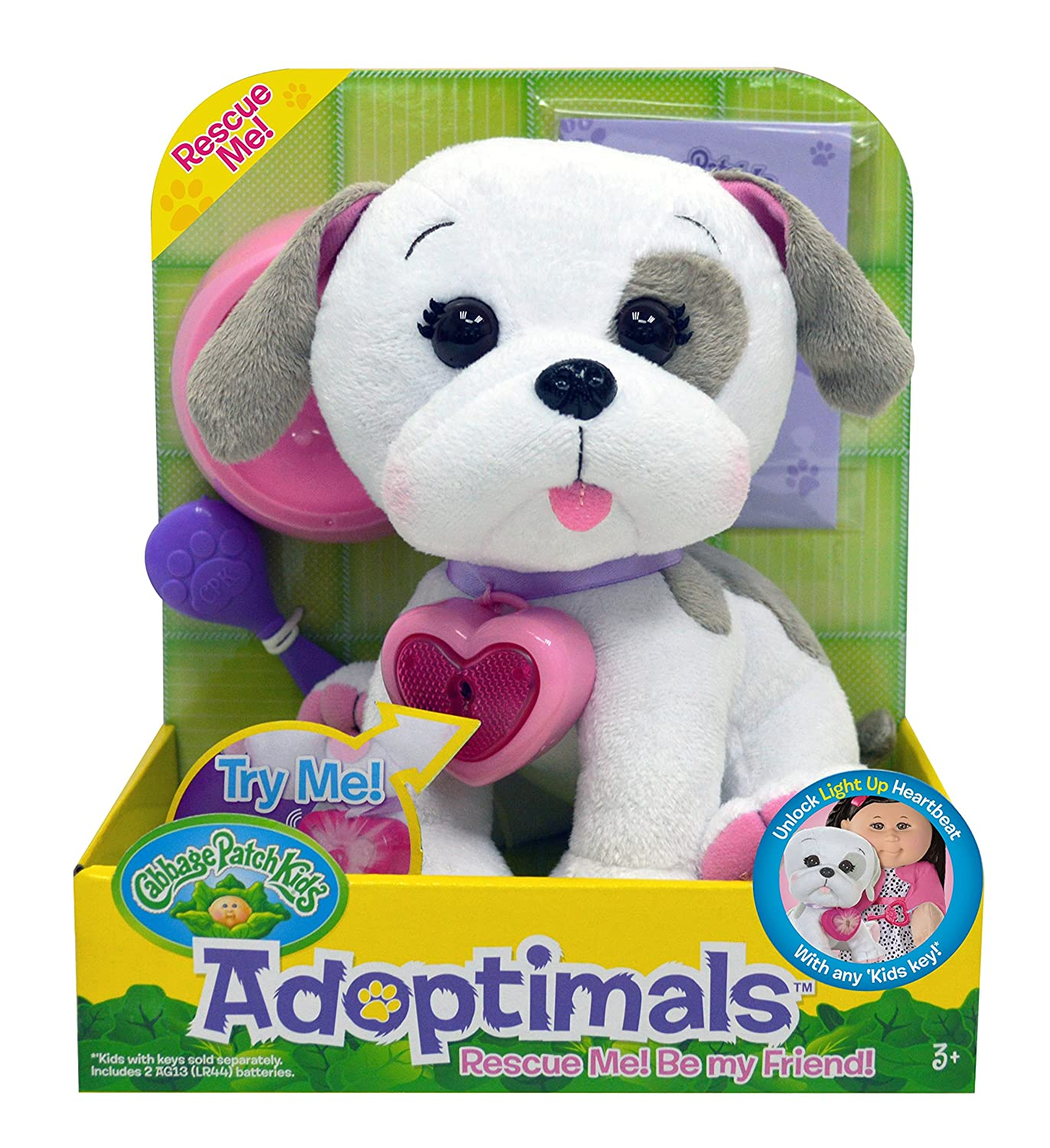 Amazon Cabbage Patch Kids Adoptimals Bulldog Toys & Games