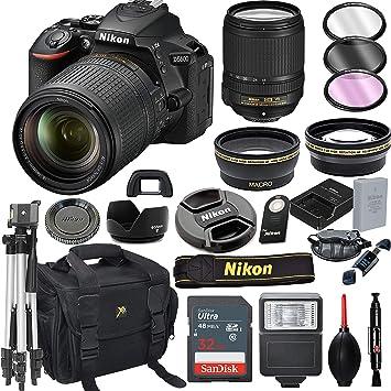 Amazon.com: Nikon D5600 - Cámara réflex digital con lente VR ...