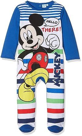 d74710901 Mickey Mouse Baby Boys' dors bien Sleepsuit, Blue 109, 9-12 (Sizes ...