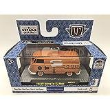 VW06 18-74 Model Blue w//Typewriter Graphics Auto-Thentics Volkswagen Release 6 Castline 2018 Premium Edition 1:64 Scale Die-Cast Vehicle /& Display Case Set M2 Machines 1960 VW Delivery Van U.S.A