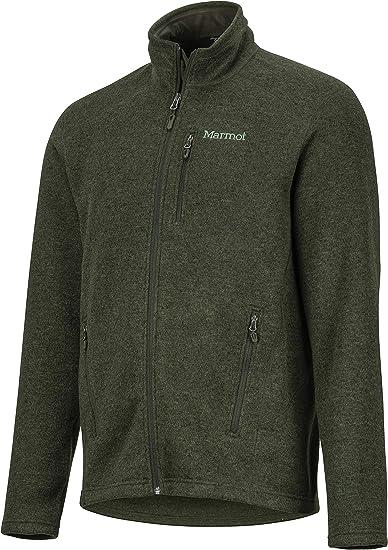 Marmot Herren Pisgah Jacket Atmungsaktiv Fleece Outdoorjacke