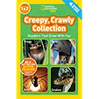 National Geographic Kids Readers: Creepy Crawly Collection (National Geographic Kids Readers: Level 1&2)