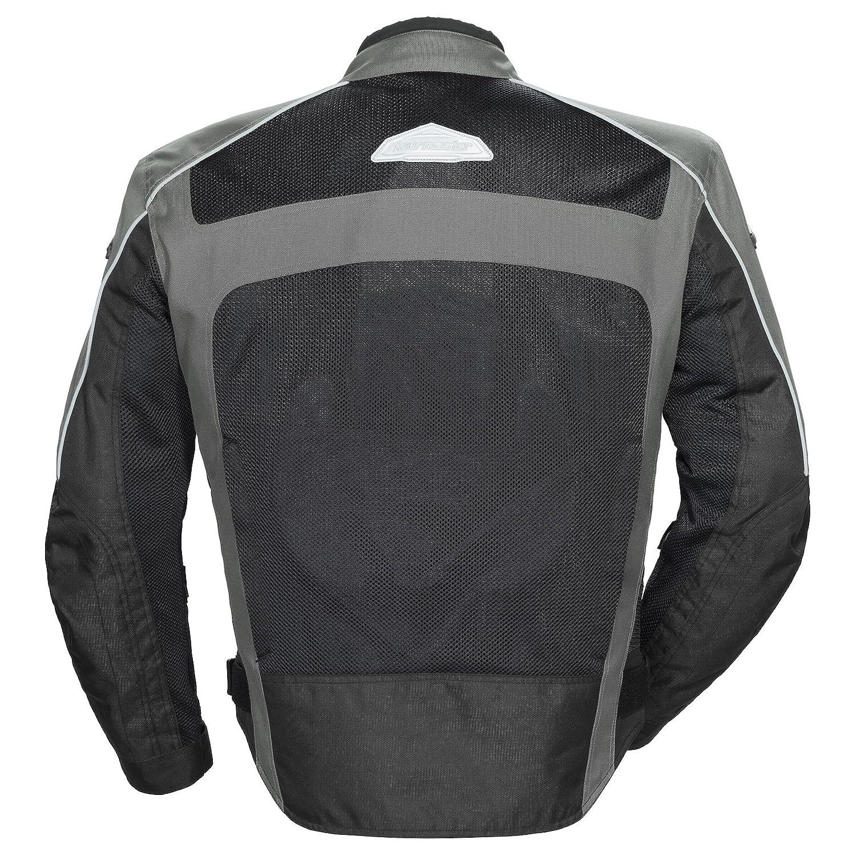 Tour Master Draft Air 3 Mesh Summer Jacket Grey//Black MED