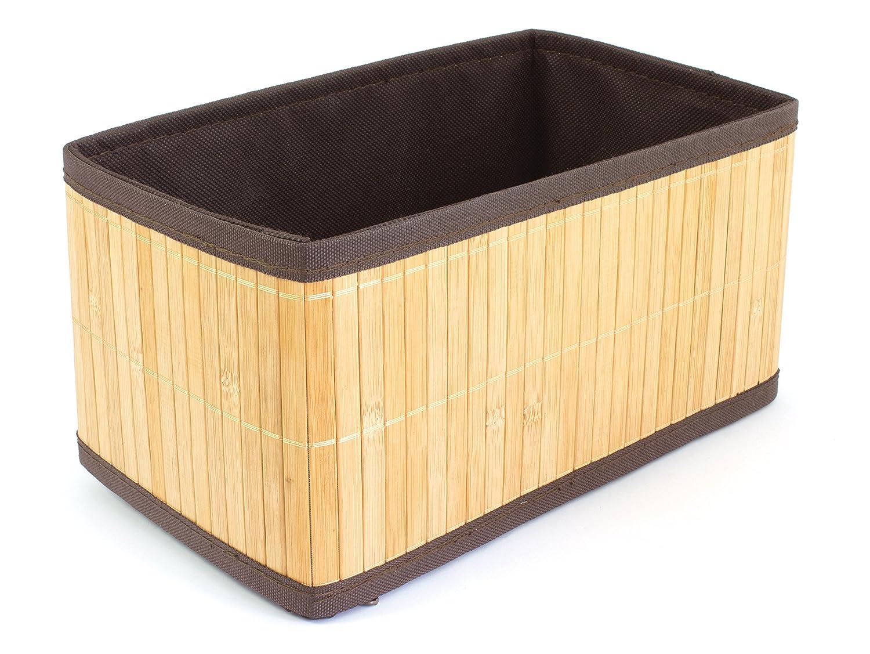 Gelco Design papangue Scatola Portaoggetti, bambù , Naturale, 26 x 15 x 13,5 cm bambù 26x 15x 13 5cm 710451